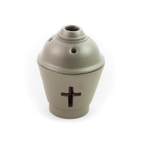 Ceramic Vigil Oil Lamp Pot-shaped