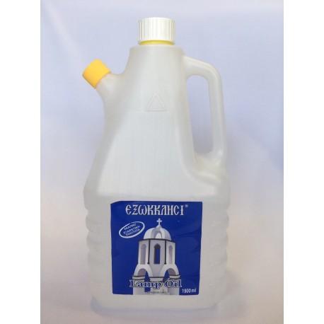 """Παραφινέλαιο """"Εξωκκλήσι"""" μπλε 1900 ml"""
