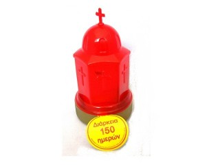 "Plastic Electrical ""Little-Church"" (Α' quality)"