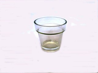 Glass Votive Cup Large