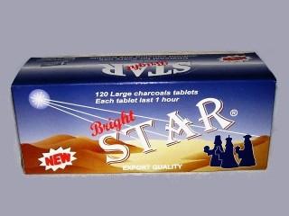 """Καρβουνάκι Θυμιάματος """"Star"""""""