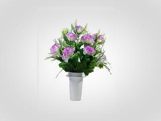 Plastic Flower in a Pot Nr 155