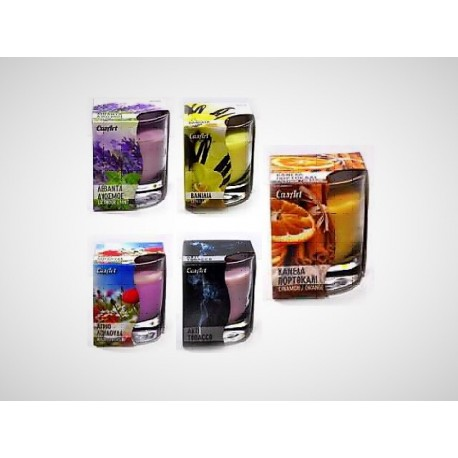 """Aromatic Candle, Glass """"Casart"""""""
